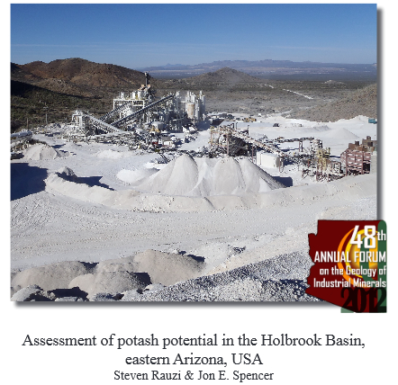 Potash in Holbrook Basin, Arizona