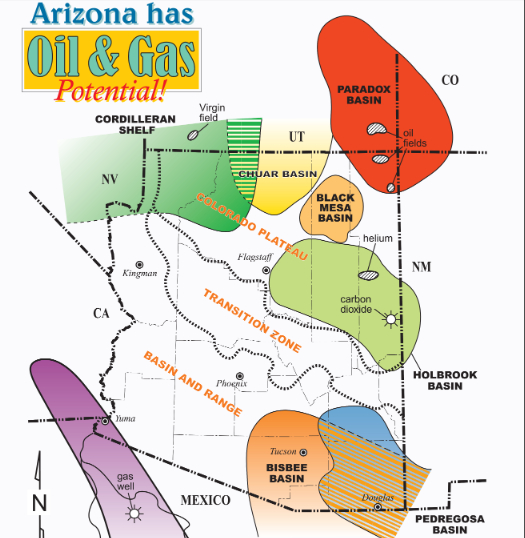 Arizona has oil and gas poster