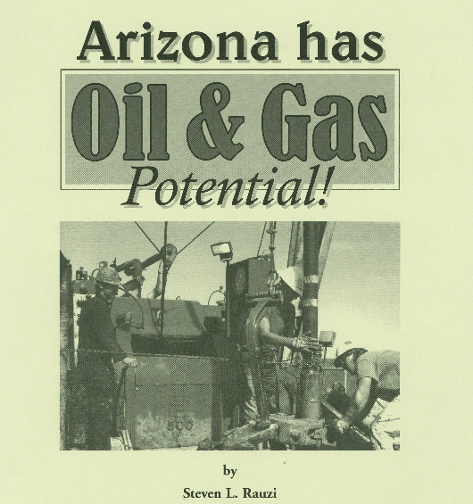 Arizona has oil and gas potential booklet