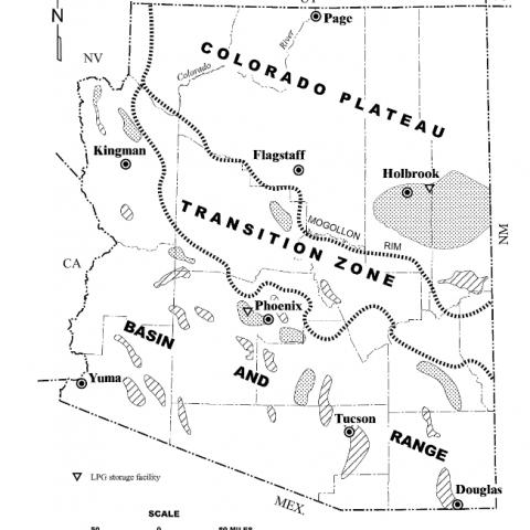 Supai Arizona Map.Supai Formation Azgs
