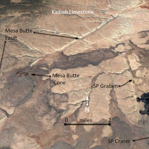 Mesa Butte and SP Crater