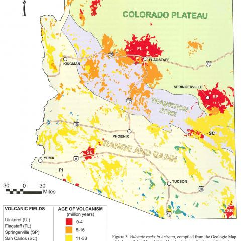 Geologic Map of Arizona | AZGS