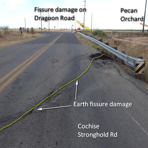 earth fissure, geological hazard