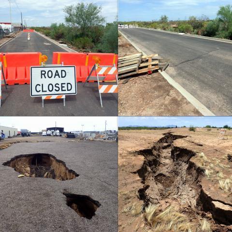 earth fissure, geological hazard