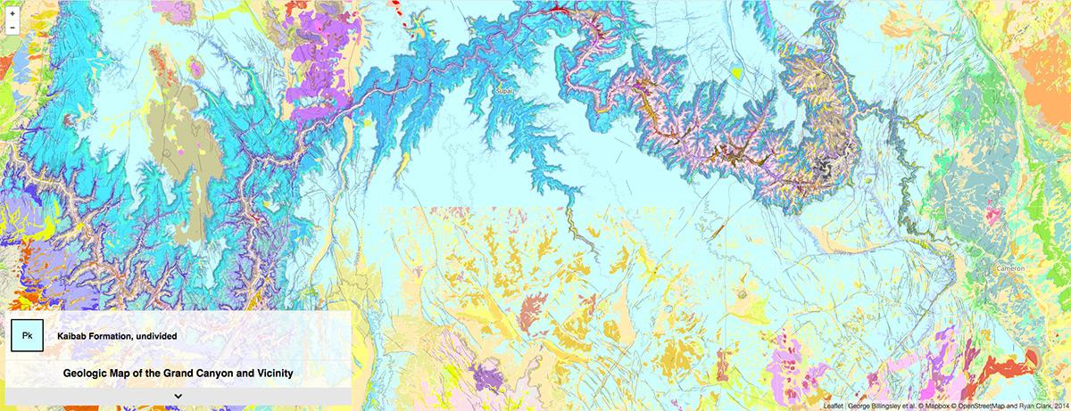 Interactive Geologic Map of Grand Canyon | AZGS
