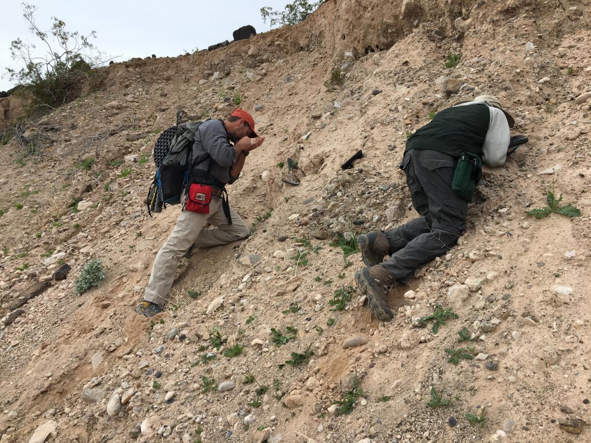faulting, geologic hazard, Lake Mead