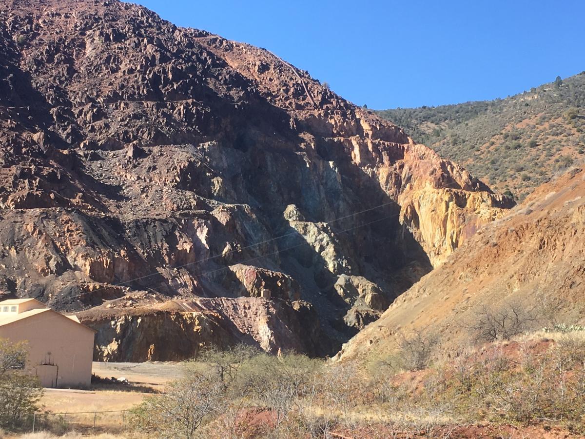 VMS, Open Pit Mine, Jerome