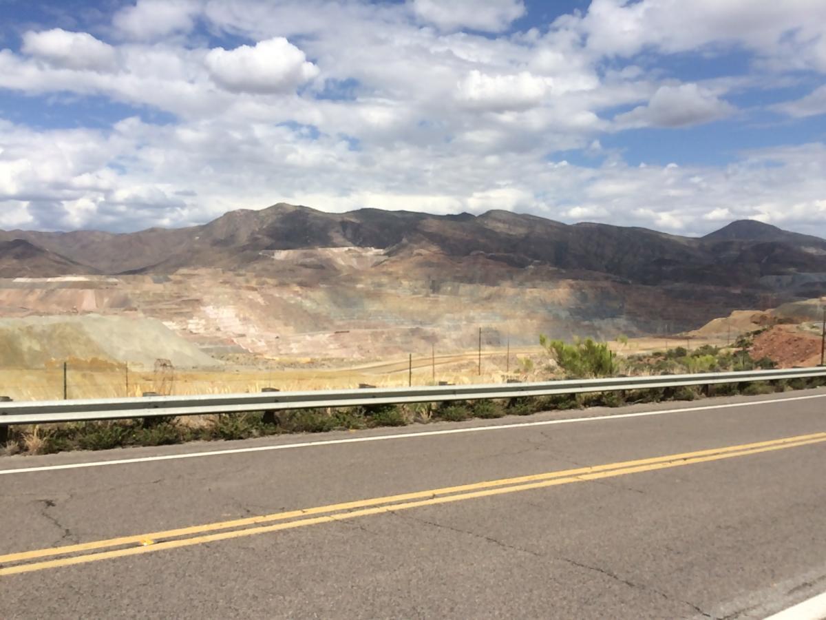 Ray Mine, copper,