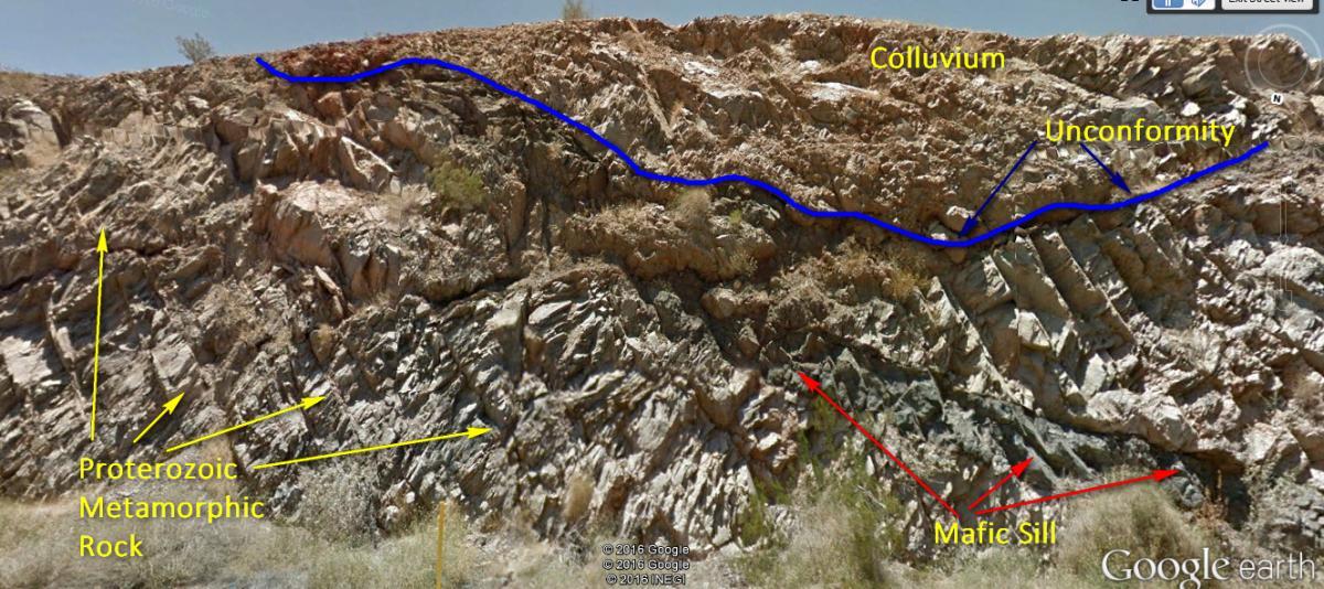 Proterozoic gneiss