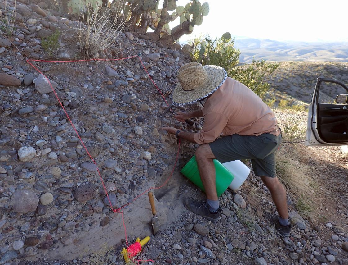 sedimentology, sampling
