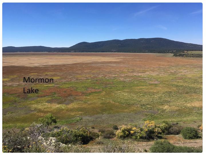 Mormon Lake Az >> Droughty Mormon Lake Near Flagstaff Arizona Azgs