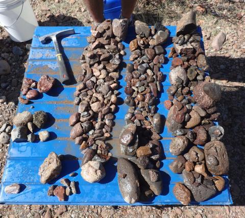 fluvial system, cobbles, sedimentology