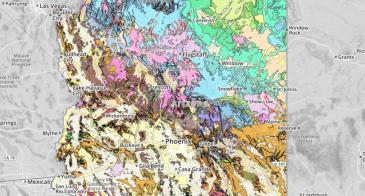 Geologic map of Arizona