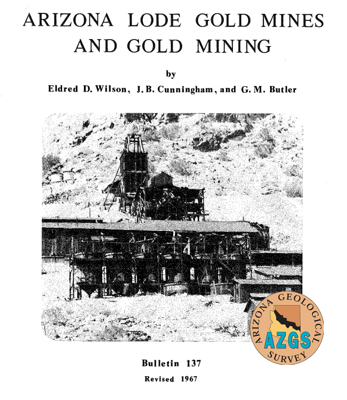 Arizona lode gold cover