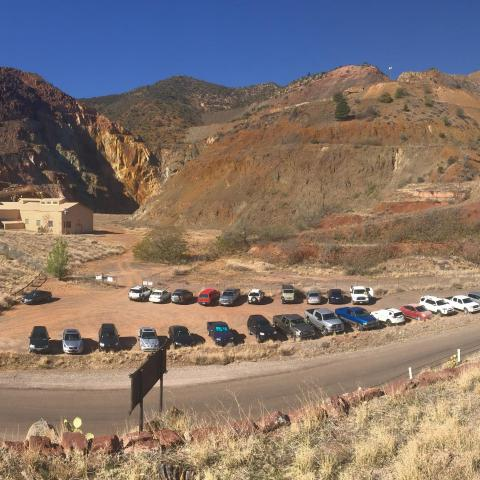 Open pit mine, Jerome, Arizona