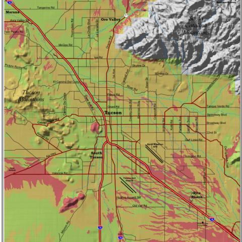 Shrink-Swell Soils Map