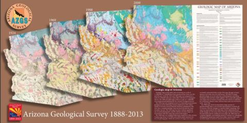 Geologic map, Arizona