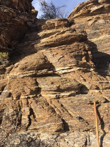 Gneiss, Tertiary, Proterozoic, Rincon Mountains